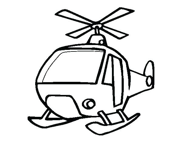 600x470 Huey Helicopter Coloring Pages