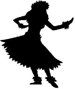 266x314 pk mini hula girls luki hula girl, hula, dancer silhouette