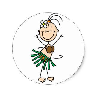 324x324 stick figure hula dancing sticker stick people art stick