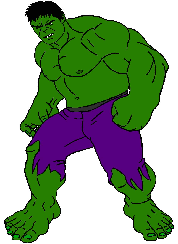 Hulk Cartoon Drawing   Free download on ClipArtMag