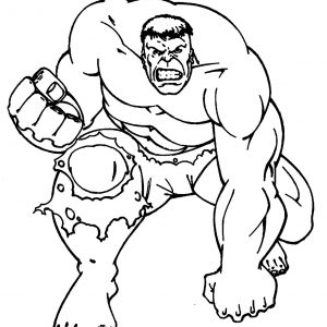 300x300 Hulk Coloring Pages Lego Printable Fresh