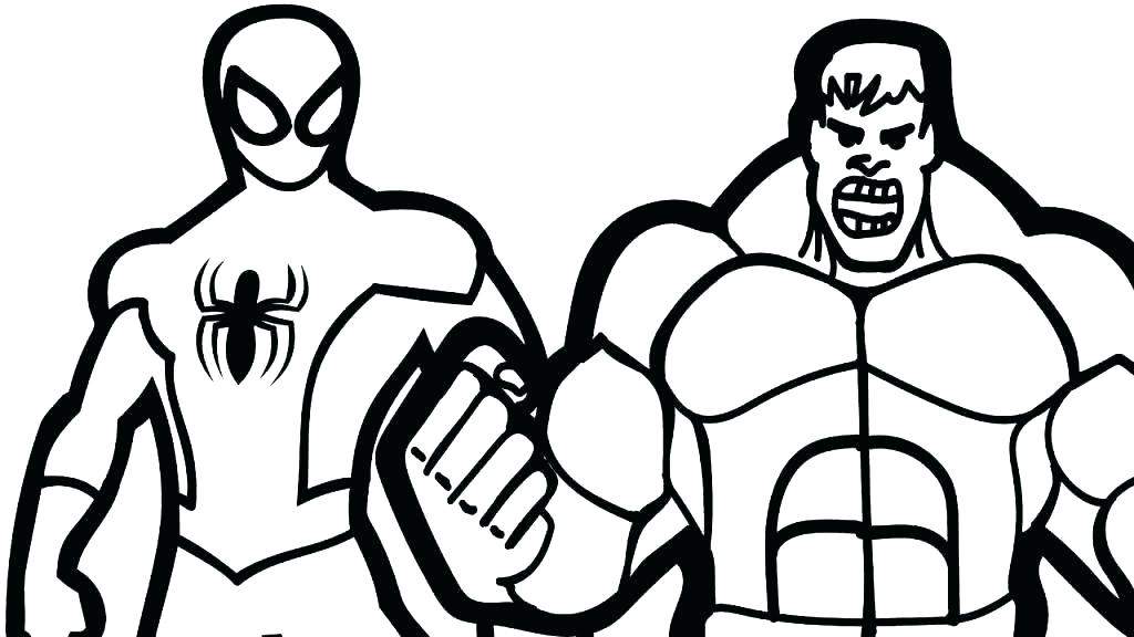 Hulk Drawing Pages Free Download On Clipartmag