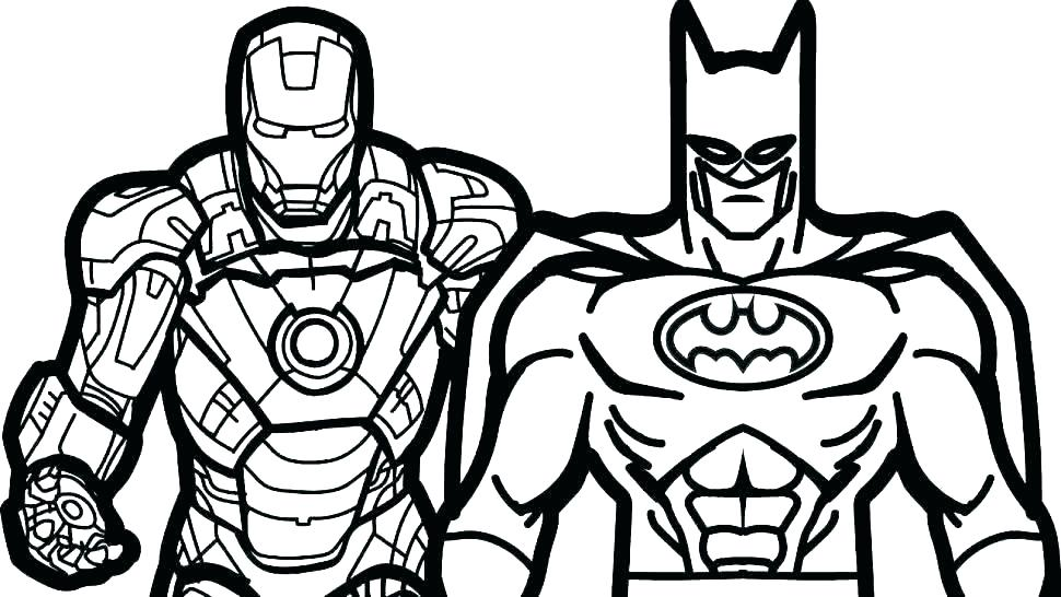 970x546 Superhero Printables Coloring Pages Coloring