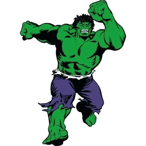 512x512 hulk outline drawing on hulk symbol outline