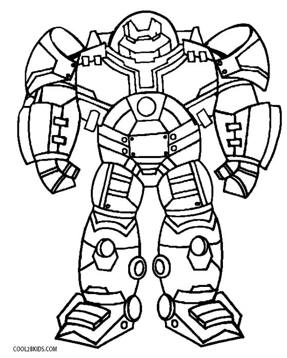 Hulkbuster Drawing | Free download on ClipArtMag