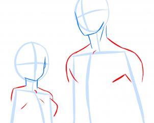 302x242 How To Draw Anime Anatomy, Step