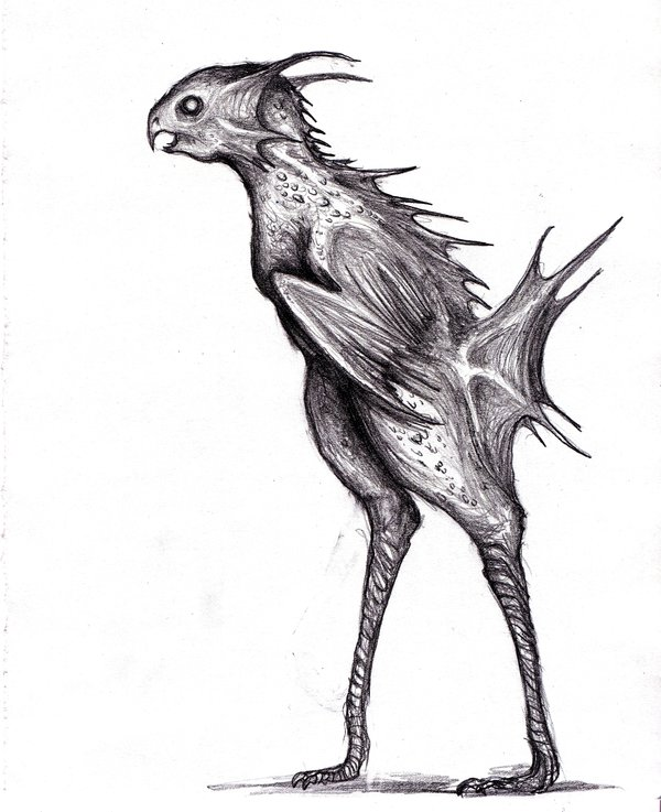 Human Animal Hybrid Drawing | Free download on ClipArtMag