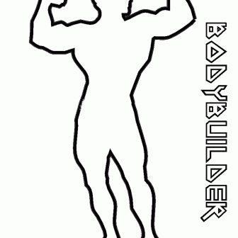 Human Body Outline Drawing | Free download best Human Body
