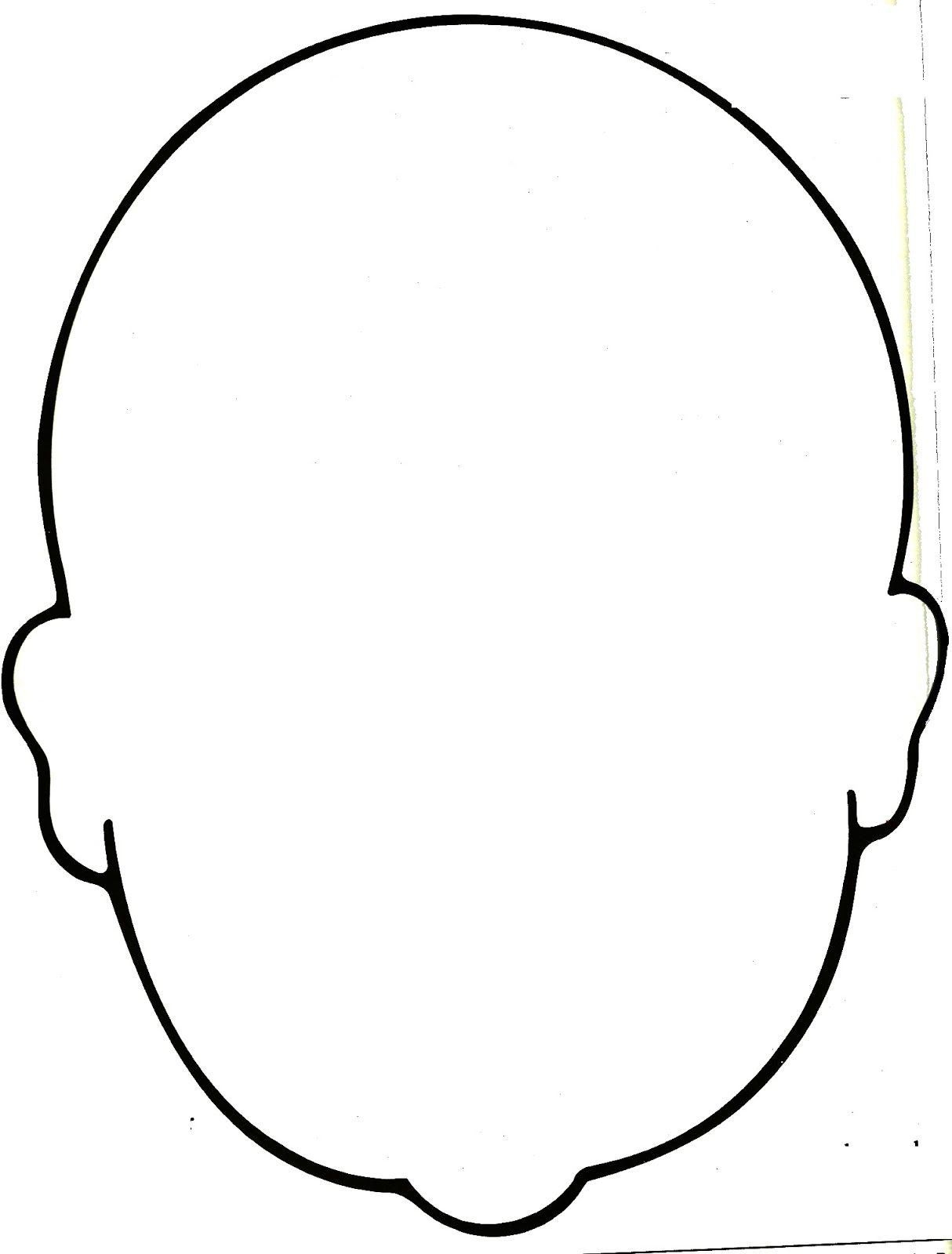 Human Drawing Outline