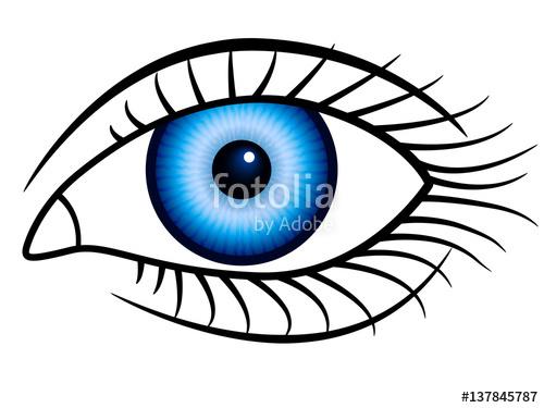 500x375 Human Eye Icon Stock Image And Royalty Free Vector