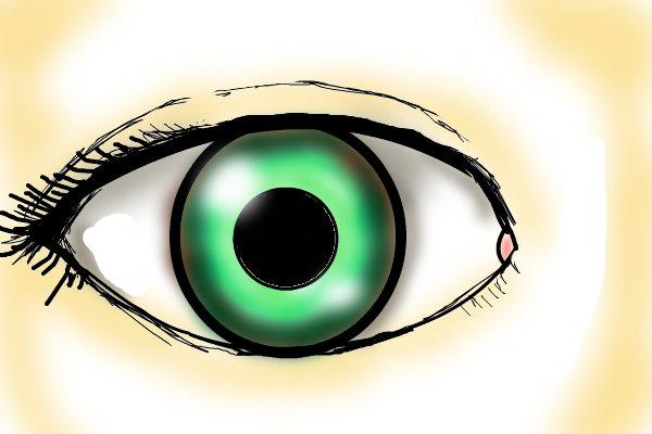 600x400 Human Eye A People Speedpaint Drawing