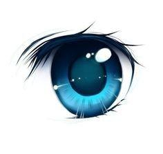 236x223 Blue Human Eye Drawing In Anime Eyes, Manga Eyes, Anime