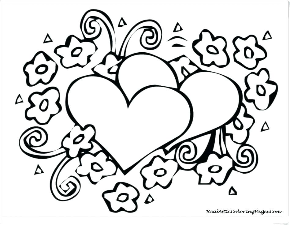 Human Heart Line Drawing   Free download on ClipArtMag