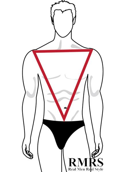 450x600 inverted triangle male body shape aka v shape