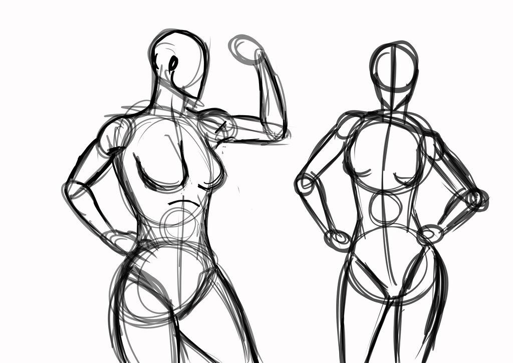 Human Poses Drawing | Free download best Human Poses Drawing