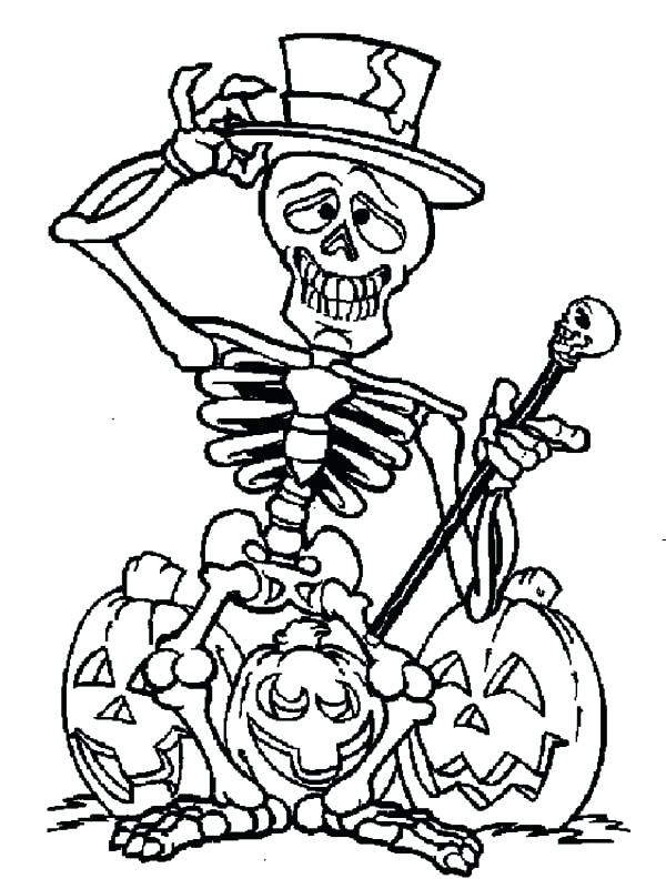 600x801 coloring skeleton skeleton cutout activity skeleton head coloring