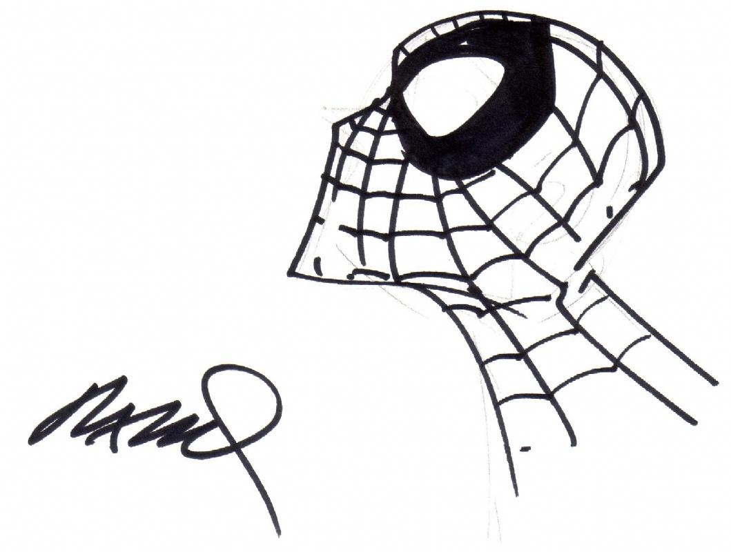 1059x800 Humberto Ramos Spider Man, In Nick Kelley's Misc Comic Art Gallery