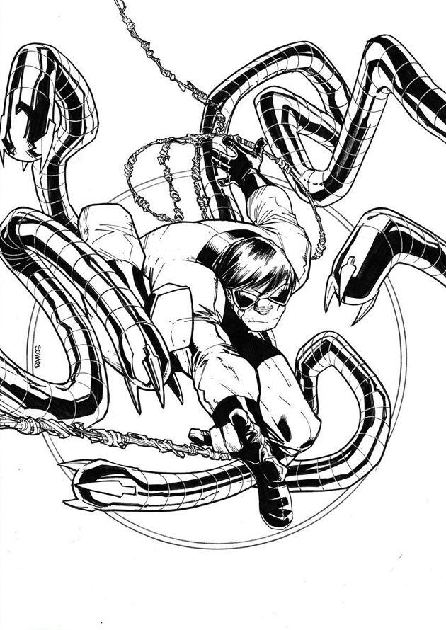 630x890 Otto Octavius Como Spider Man En Spiderman En Hobby Consolas