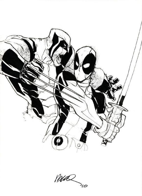 580x800 Wolverine Vs Deadpool Book Comic Books Art