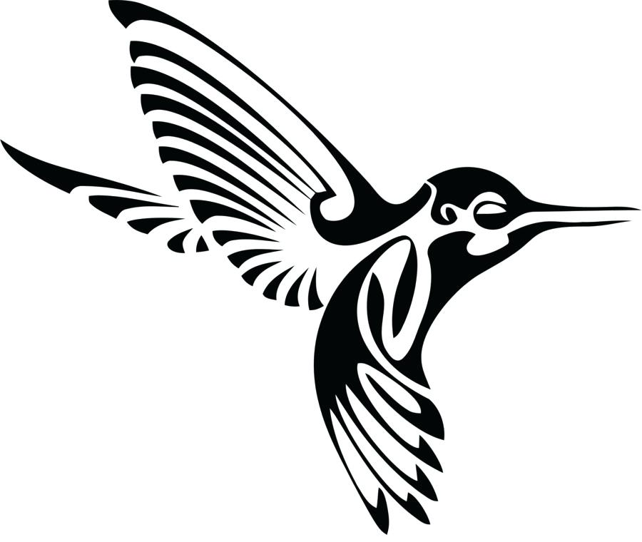 900x760 hummingbird drawing hummingbird silhouette drawing clip art