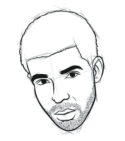 400x450 draw easy graphic content how to draw drake in easy steps easy
