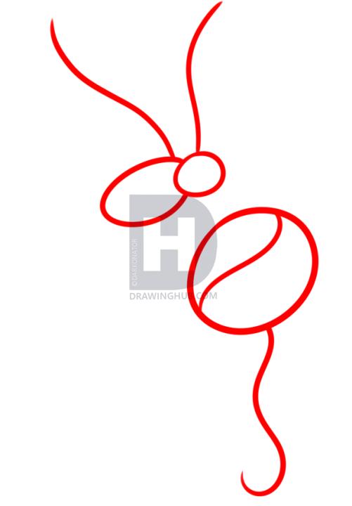 501x720 How To Draw A Hummingbird Tattoo, Step