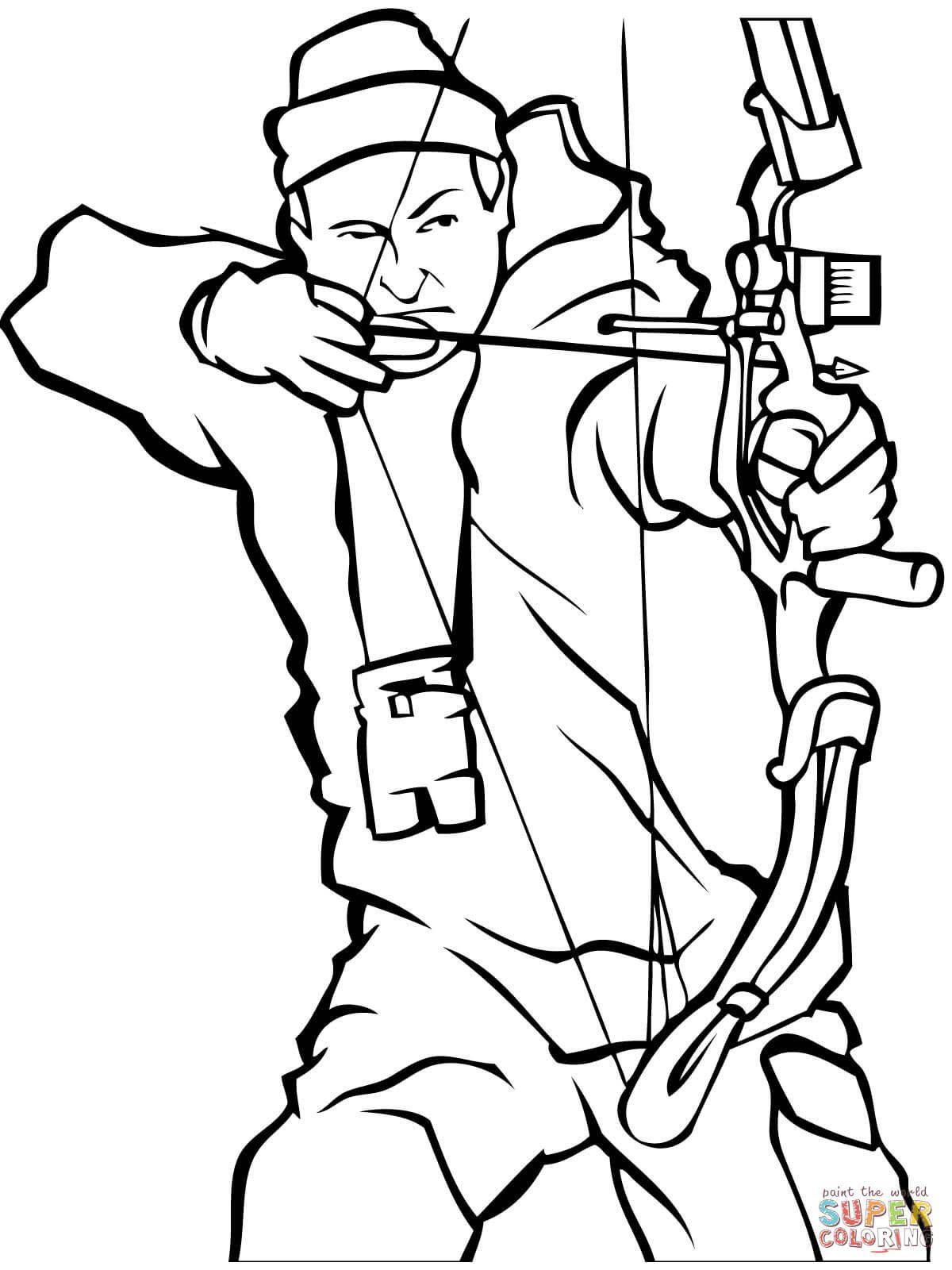 Hunter Drawing