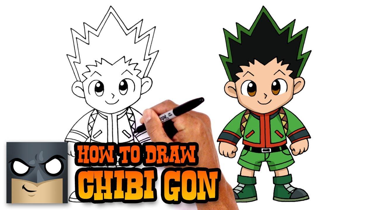 1280x720 how to draw gon hunter x hunter