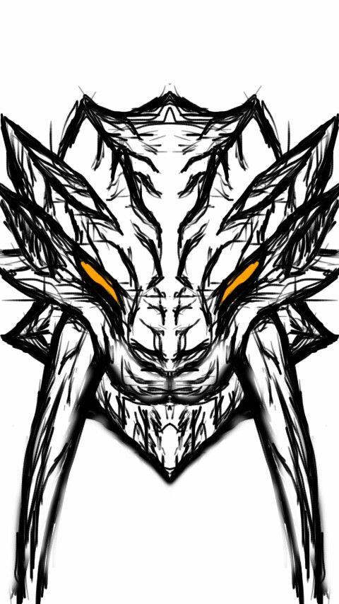 480x854 barioth art things in monster hunter art, monster hunter