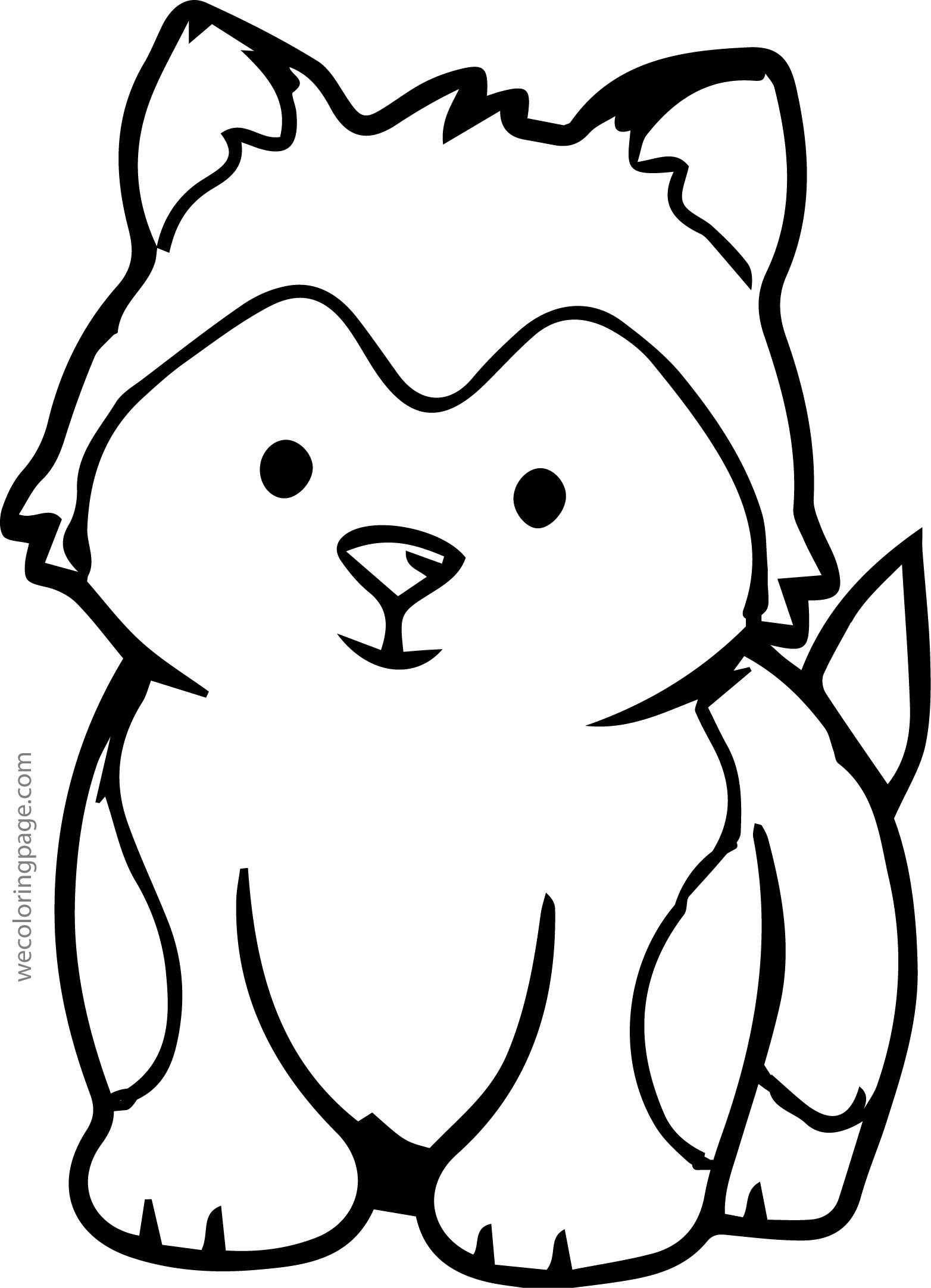 Husky Drawing Easy | Free download on ClipArtMag
