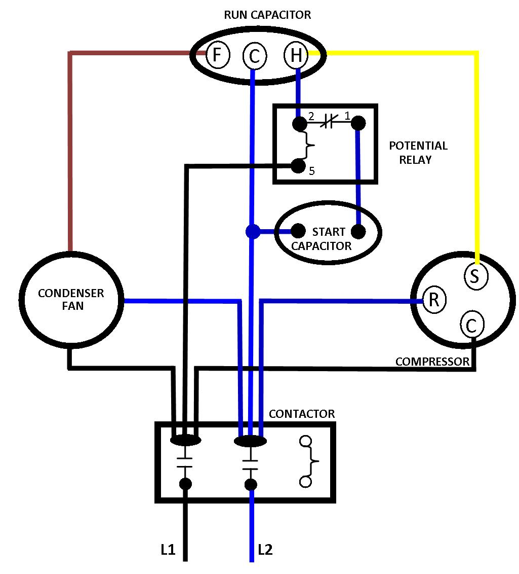 Hvac Compressor Wiring | Wiring Diagram on