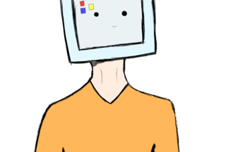 320x216 i like drawing men with tv heads because i cannot draw heads