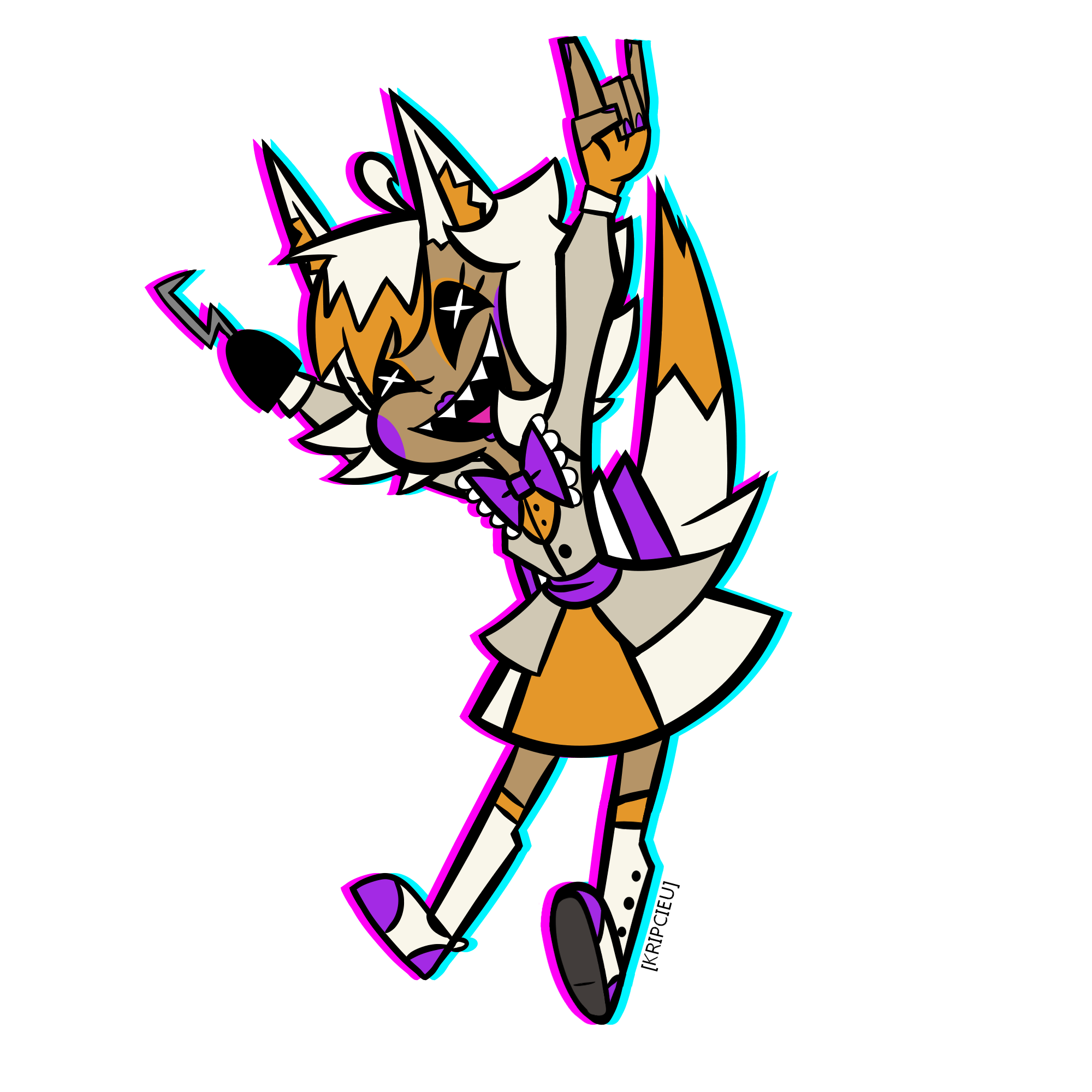 2000x2000 i really like drawing human lolbit for some reason