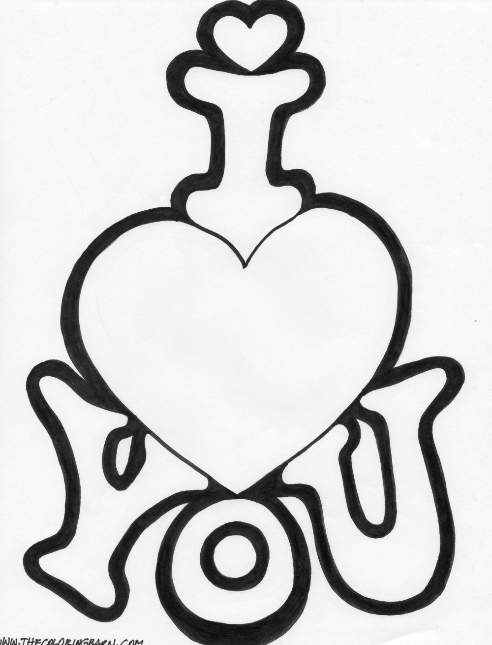 1000x1310 I Love You Coloring Pages Only Coloring Pages