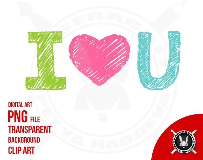 794x625 I Love You Text Words Png Transparent Background Etsy