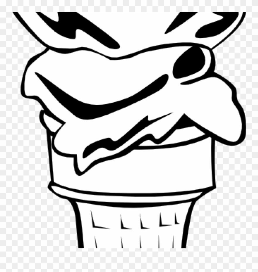 880x930 Ice Cream Clipart Black And White Ice Cream Clipart