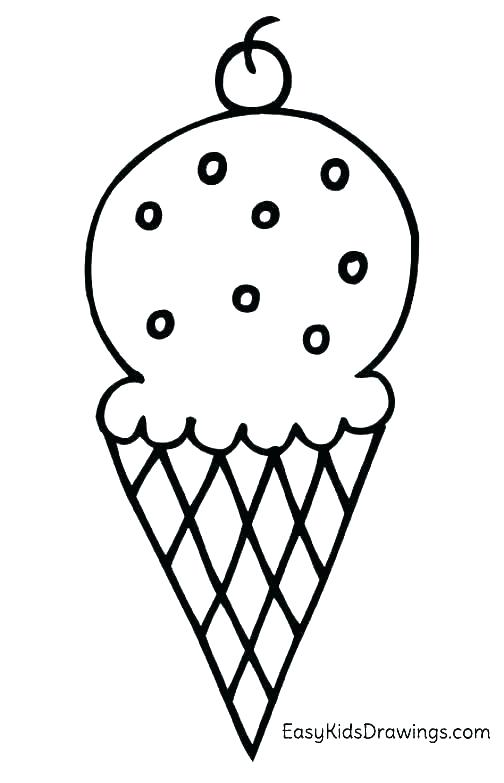 504x783 Ice Cream Cone Coloring Sheets