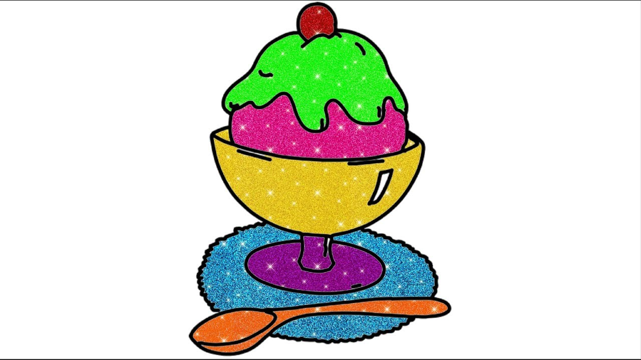 1280x720 Ice Cream Drawing For Kids How To Draw Ice Cream