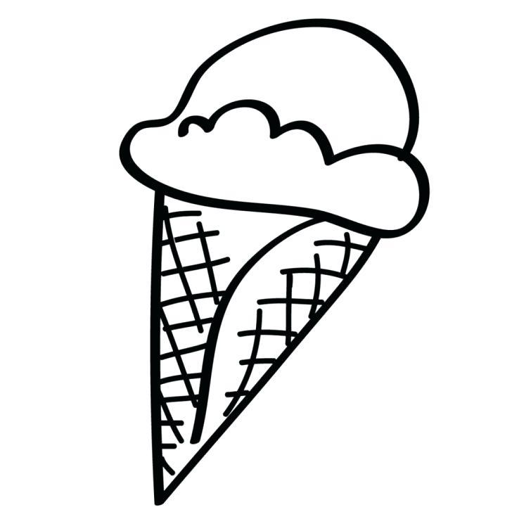 728x728 Coloring Picture Ice Cream Cone
