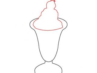 320x240 ice cream sundae drawing how to draw a strawberry sundae steps