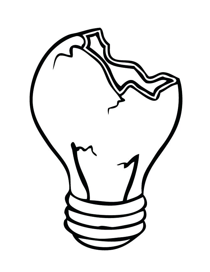 670x867 light bulb drawing at free for personal use light simple light