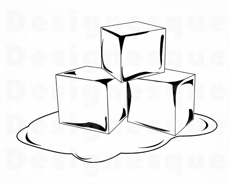 794x635 melting ice ice ice cubes ice clipart ice etsy