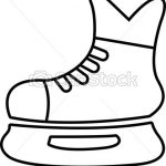 150x150 hockey skate drawing hockey skate equipment player stick mask