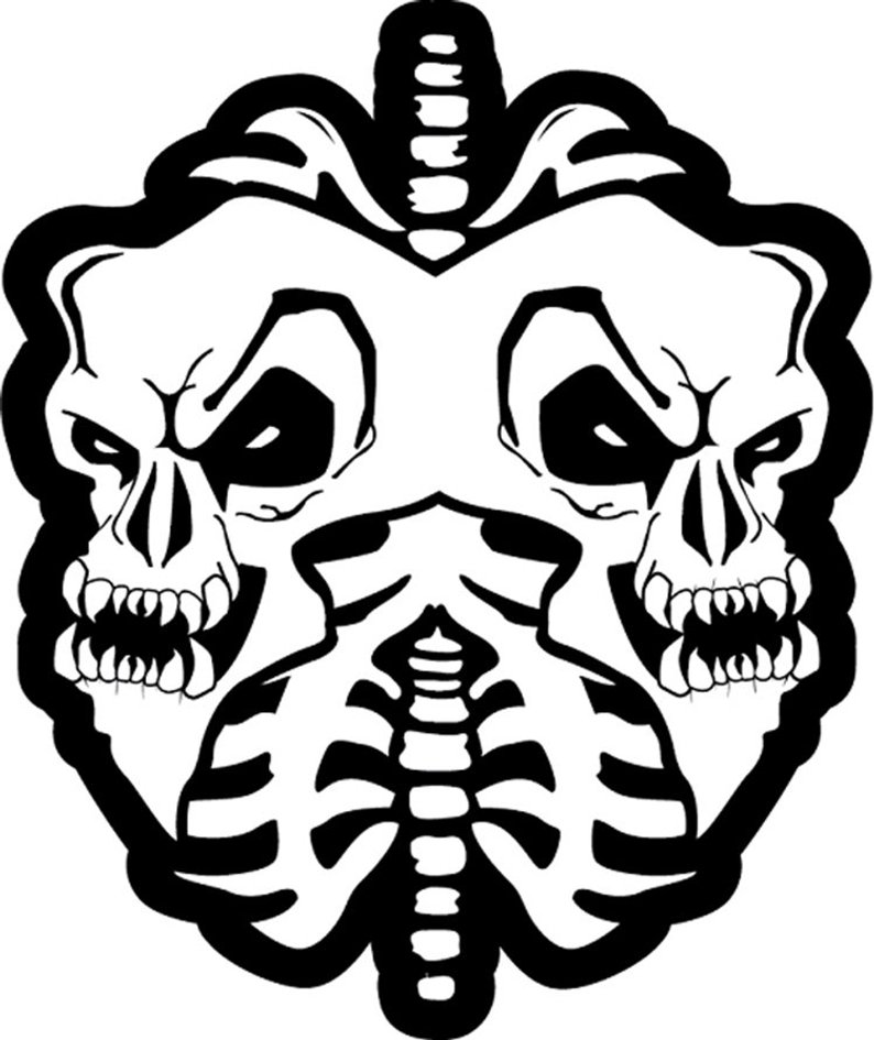 794x945 twiztid skull lungs vinyl sticker huge year vinyl icp insane etsy