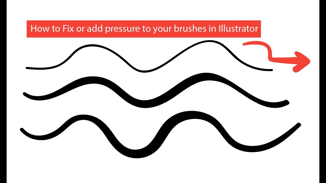 1280x720 How To Fix Or Create Pressure Brushes In Illustrator