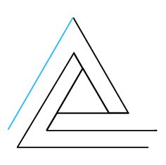 236x235 best impossible triangle images impossible triangle, geometry