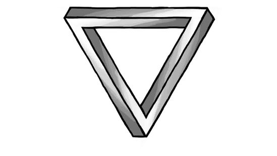 Impossible Triangle Drawing