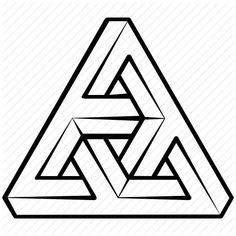 236x236 best impossible triangle images impossible triangle, geometry