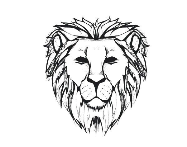600x472 lion tattoo arttattoo lion face drawing, lion sketch, lion tattoo