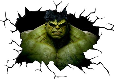 450x314 marvel the incredible hulk wall crack wall smash wall